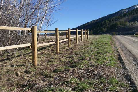 Wood Frontier Fence Inc